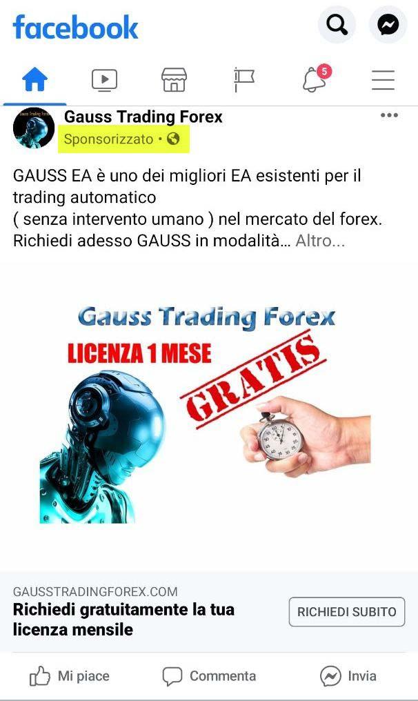 Gauss Trading Forex